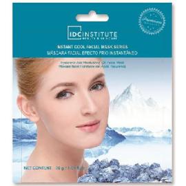 Mascara efecto frio hidratación de ácido hialuronico